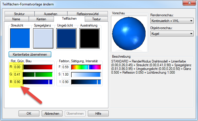 Solid Edge [color calculator] | CAD-Helpdesk.ch / Solid Edge